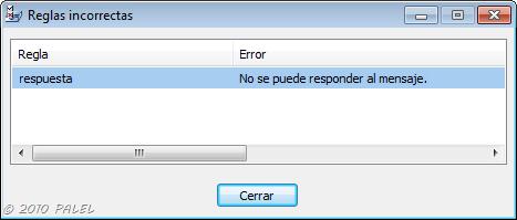 Outlook 2007 regla responder usando una plantilla for Fuera de oficina outlook