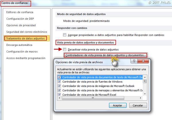 Outlook 2010: Adjuntos y Vista previa (4/4)