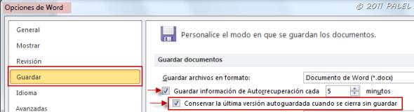 Office 2010 Recuperar Documentos Sin Guardar