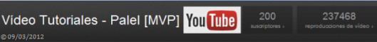 200 suscriptores Youtube palelmvp