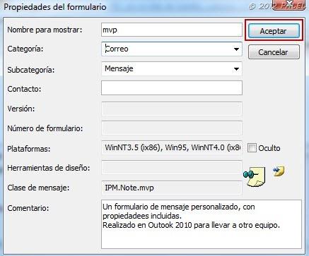 Formularios personalizados - Paso 7