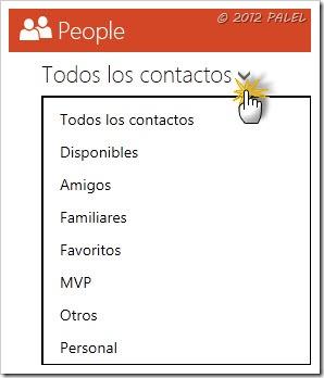 Gestión de contactos III
