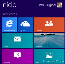 "Menú clásico de Windows 8 (Modern UI ""metro"")"