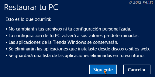 Restaurar o Reinstalar Windows 8 - 2